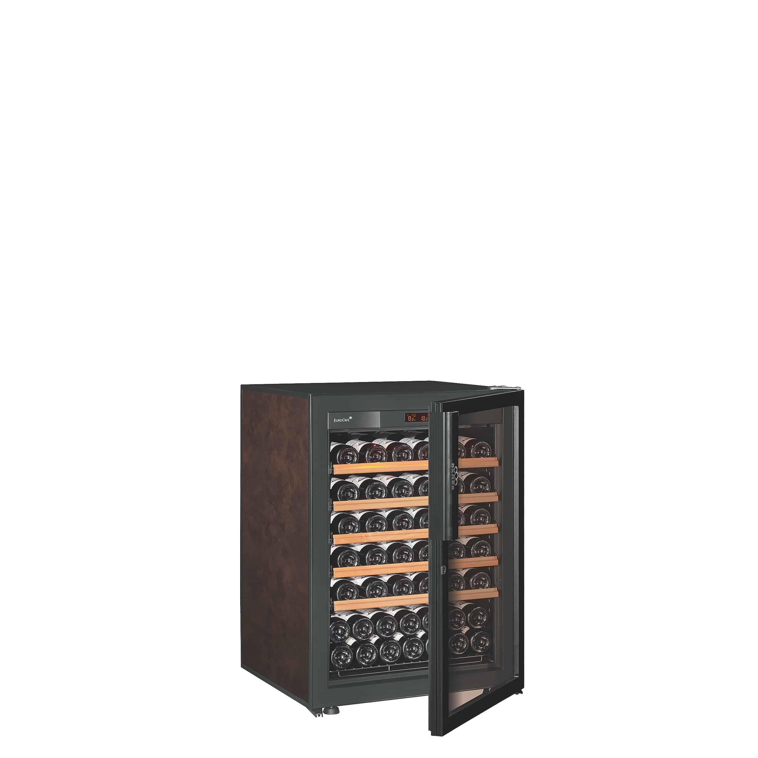 מקרר יין לאחסון מעל 90 בקבוקי יין